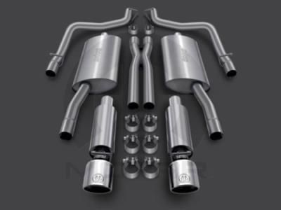 Jeep Jeep Cat-Back Performance Exhaust - 82214601 82214601 Exhaust System Kits: Cat-Back Performance Exhaust FWD Models only;With 2.4L…
