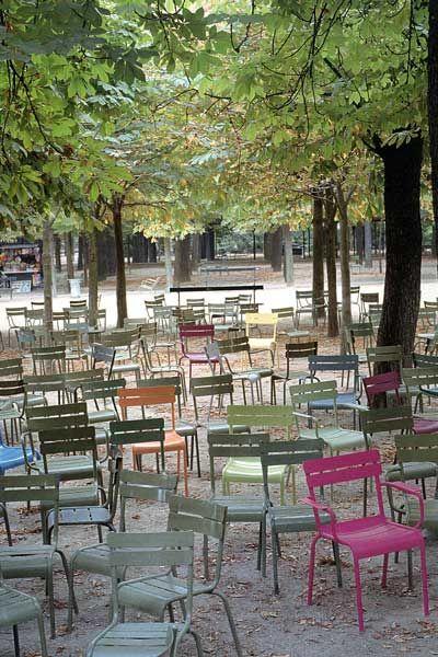 My favorite garden : Le Jardin du Luxembourg, lire, dessiner, écrire ou juste y marcher est un délice
