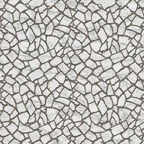 Textures Texture seamless | Carrara marble paving flagstone texture seamless 05910 | Textures - ARCHITECTURE - PAVING OUTDOOR - Flagstone | Sketchuptexture