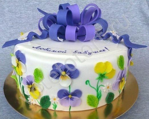 Ня картинки - торт на день рождения бабушке - Няшки