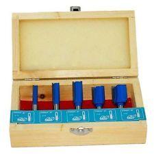 5 HM Fräser Oberfräser mit 8mm Schaft für Oberfräse