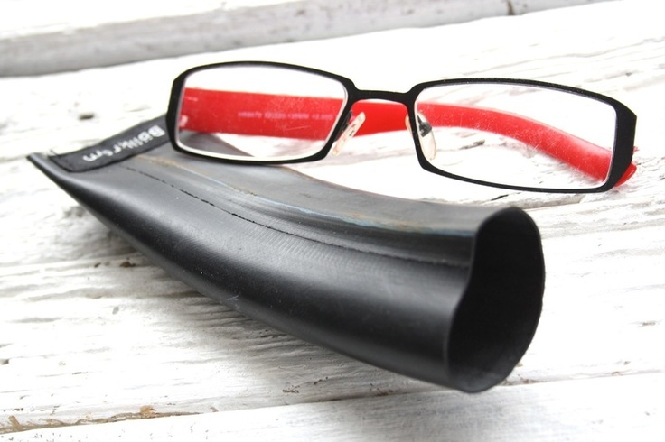 Hide your reading glasses behind recycled materials. This ...