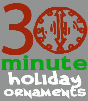 30 minute holiday ornaments - 30 Minute Crafts