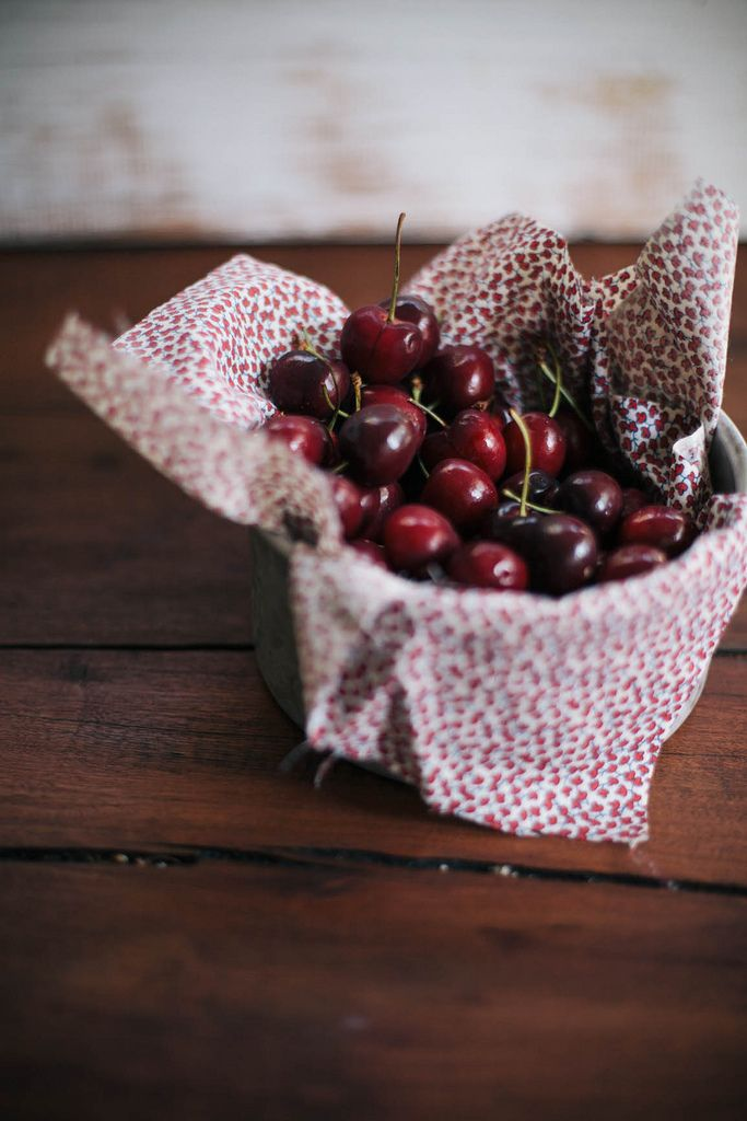Always With Butter: cherry jam