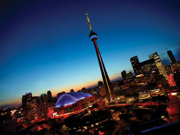 Toronto, my birth place.