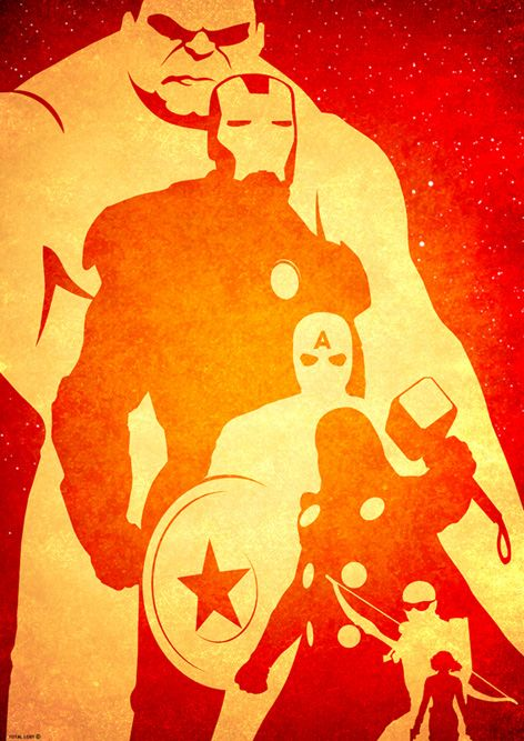 Avengers Pumpkin Stencil Posters The Avengers