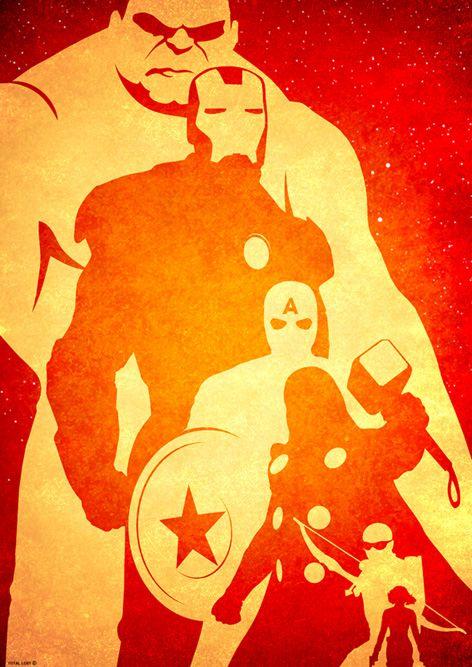 Avengers pumpkin stencil posters the