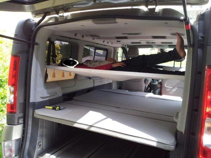 Hamac lit enfant a l 39 arri re du fourgon truck life pinterest recherche et ford Chambre froide occasion le bon coin