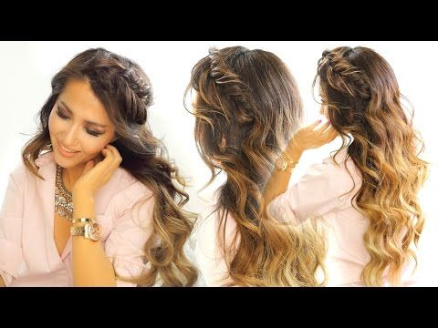 Youtube Hairstyles Adorable 883 Best Hairstyles Youtube Images On Pinterest  Hairdos Hair