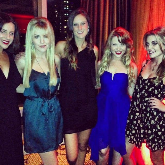 One More Girl with friends at the 2013 Vancouver International Film Festival
