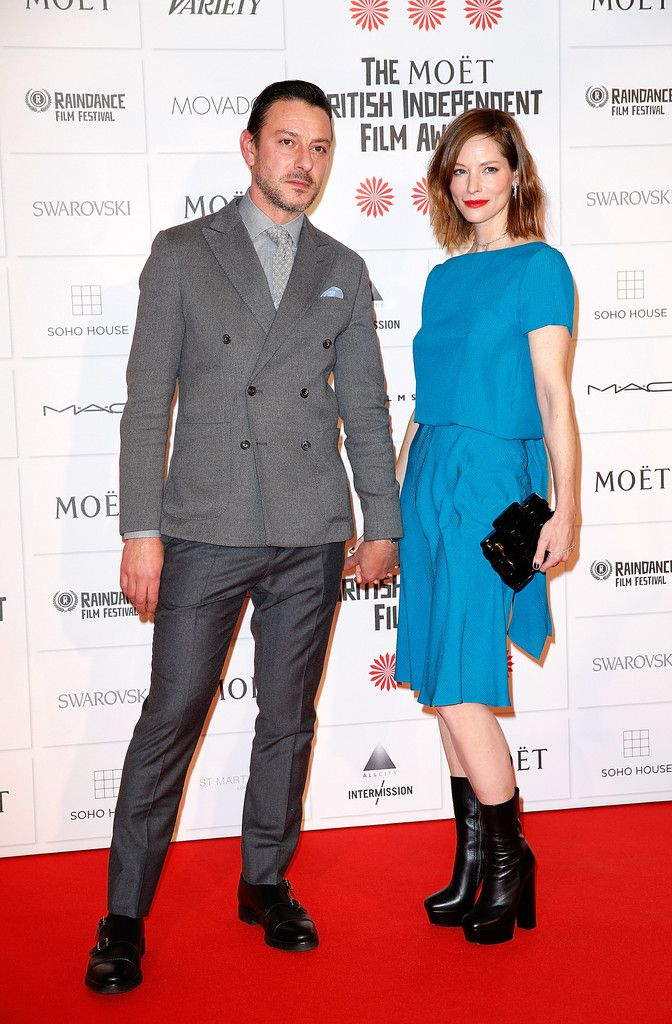 Moet British Independent Film Awards 2014 - Sienna Guillory, Enzo Cilenti