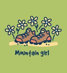 Life is Good - Mountain Girl