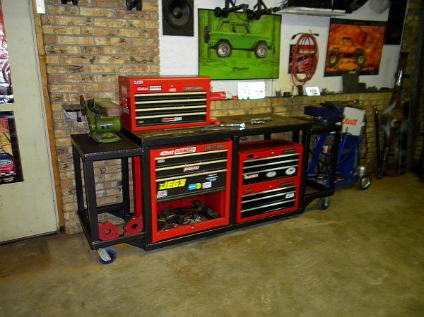 Home Made Rolling Tool Storage Homemade Tool Box