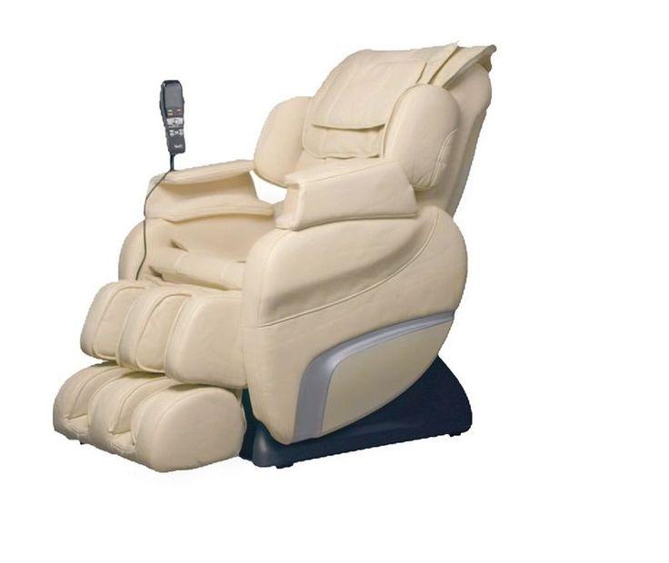 massage chair zero gravity shiatsu air foot rollers remote control osaki beige