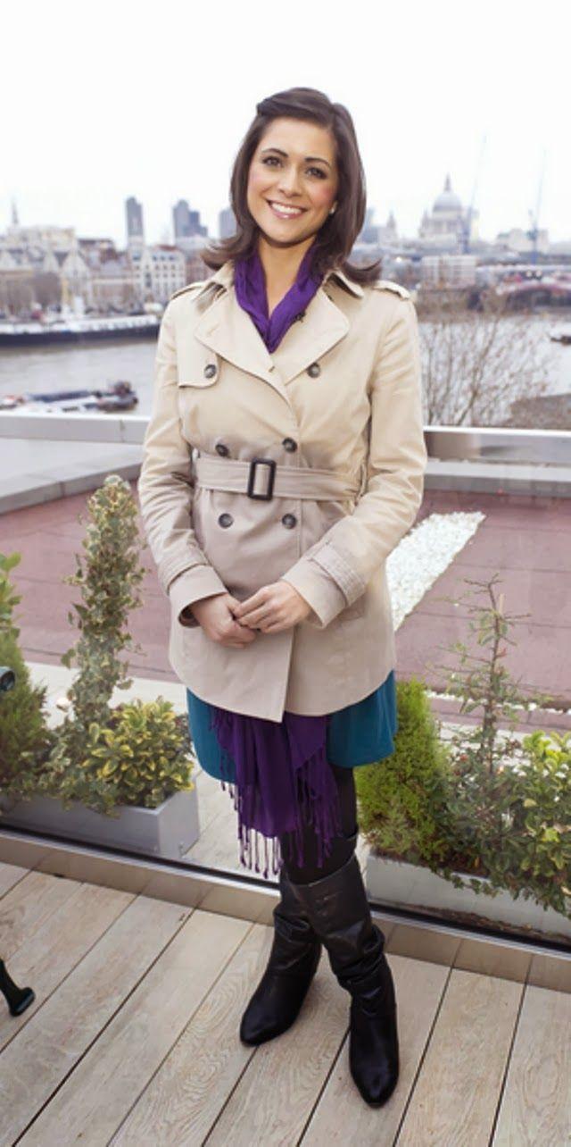 ITV Weather Forecaster Lucy Verasamy