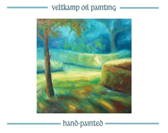 no shipping costs  landscape oil painting by VeltkampOilPainting