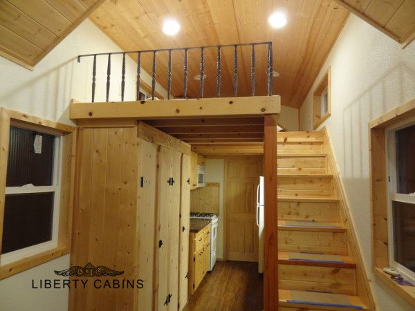 comely tiny home stairs. The Jefferson Tiny House by Liberty Cabins 455 best Homes images on Pinterest  homes house