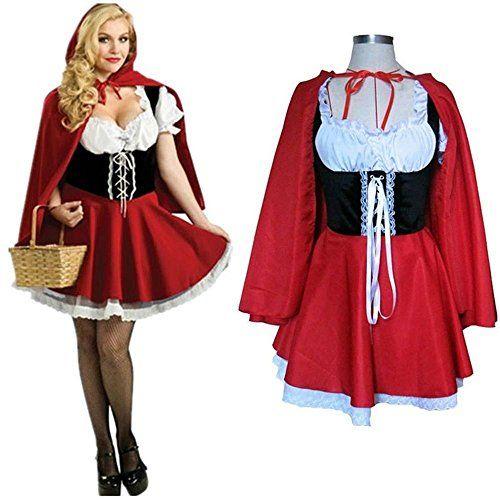 Damen Sexy Rotkäppchen Kostüm ca 23€ | Kostüm-Idee zu Karneval, Halloween & Fasching