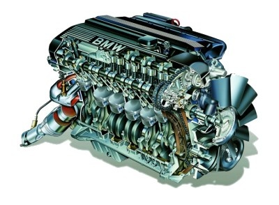 BMW M54 Engine Block