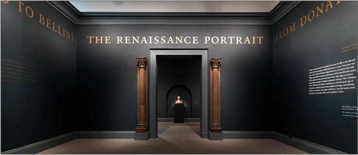 Farrow & Ball at The Metropolitan Museum, New York. Walls in Down Pipe and Black Blue