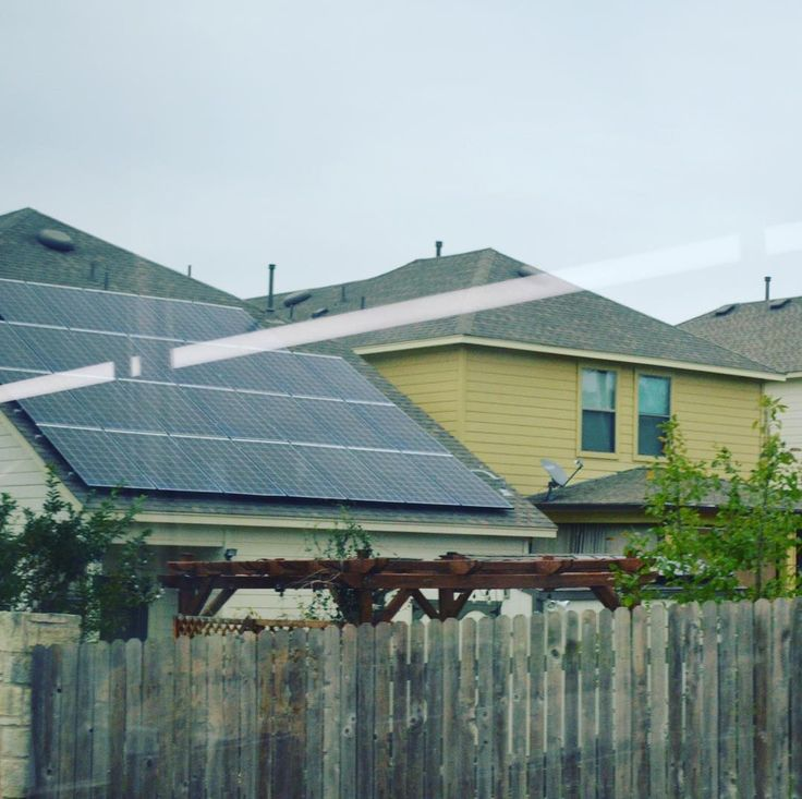 FUN FACT: A household rooftop solar panel system can reduce pollution by 100 tons of CO2 carbon dioxide in its lifetime and this includes the energy it took to manufacture the solar panels. Solar panels can improve future air quality for humans as well as the millions of   and  that are negatively affected by pollution each year. #southaustin #78745 #solarpanels #solarenergy #austintexas #austintx #austin #atx #house #overcast #suburban #suburbia #suburb #238 #westgate #power #bustheglobe