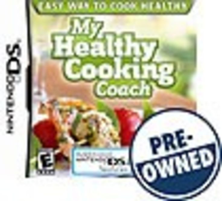 My Healthy Cooking Coach — PRE-Owned - Nintendo DS, 008888165101