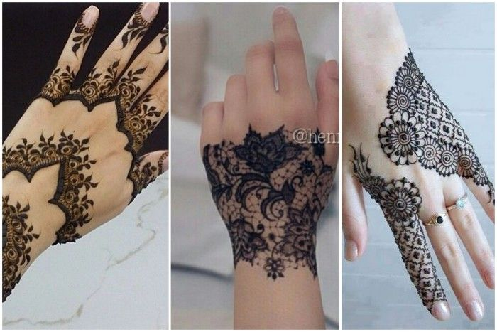 40 best peacock mehndi designs images on pinterest for Lace glove tattoo