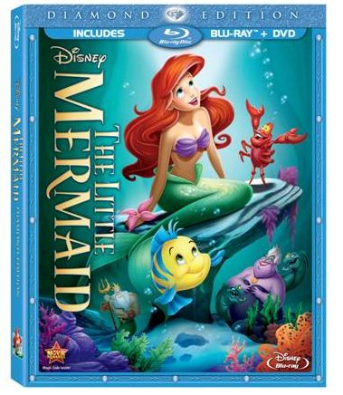Little Mermaid Blu-Ray DVD Combo, Only $13.69 at Target!