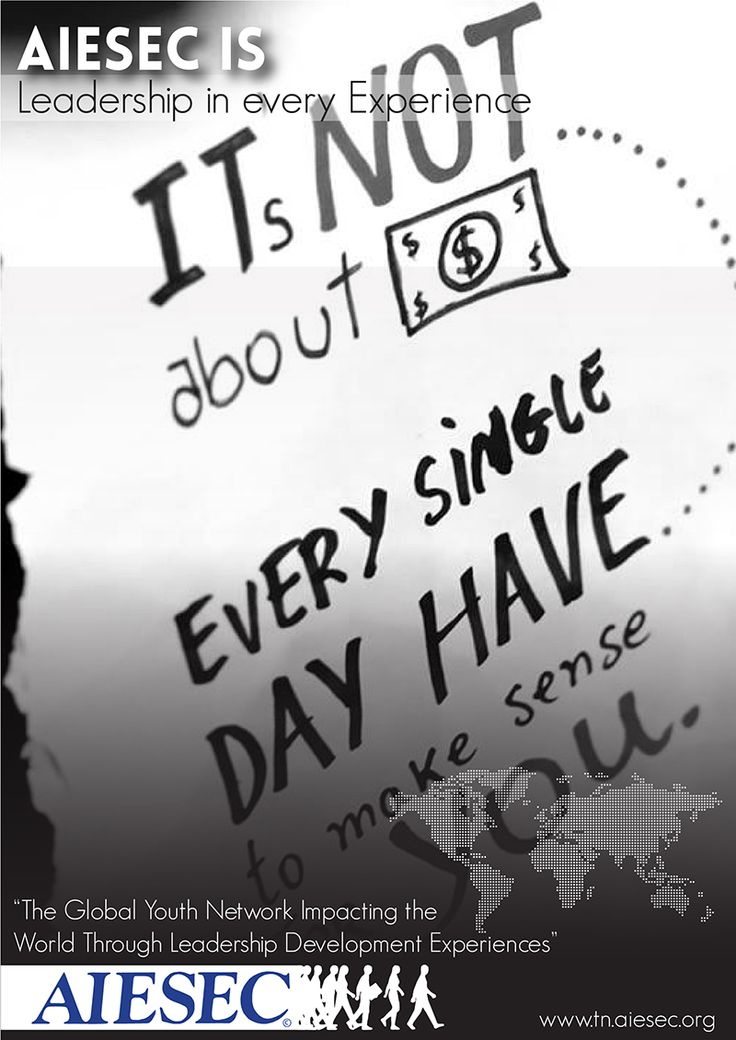 AIESEC is Leadership in every Experience