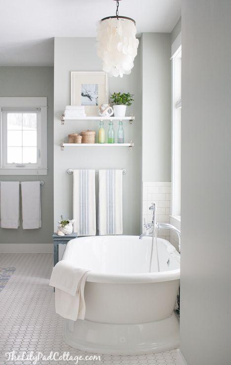 Breton Blue Bathroom Paint: 25+ Best Ideas About Benjamin Moore Bathroom On Pinterest