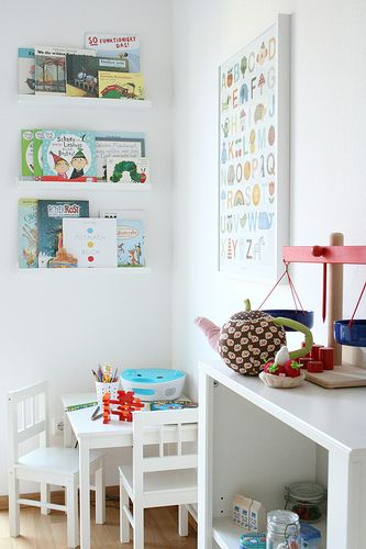 white backdrop to absorb all the busy-ness of all the other activities in the little peeps room