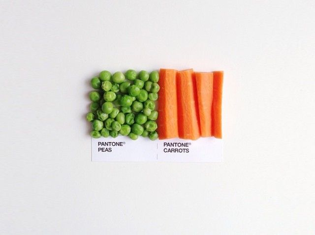 #akatoa #pantone #vegetables  Artist : David Schwen