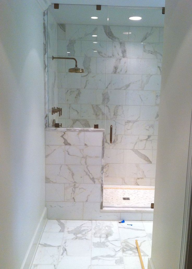 Master Shower Marble Tile From Mission Stone And Tile   Nashville, TN By  Rachel Halvorson Designs