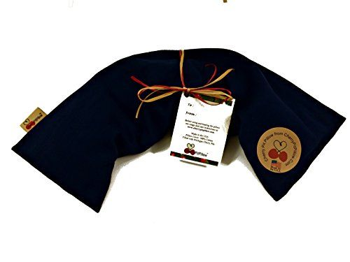 Blue Neck Cherry Pit Pillow - Soothe Neck Pain - Durable Denim - Soft to the Touch - Cherry Stone Heat Pack - Heat Pad - Unique Birthday or Christmas Present - Made in America CherryPitPillow http://www.amazon.com/dp/B00RN5VKPE/ref=cm_sw_r_pi_dp_NF4Uvb1PCW3S1