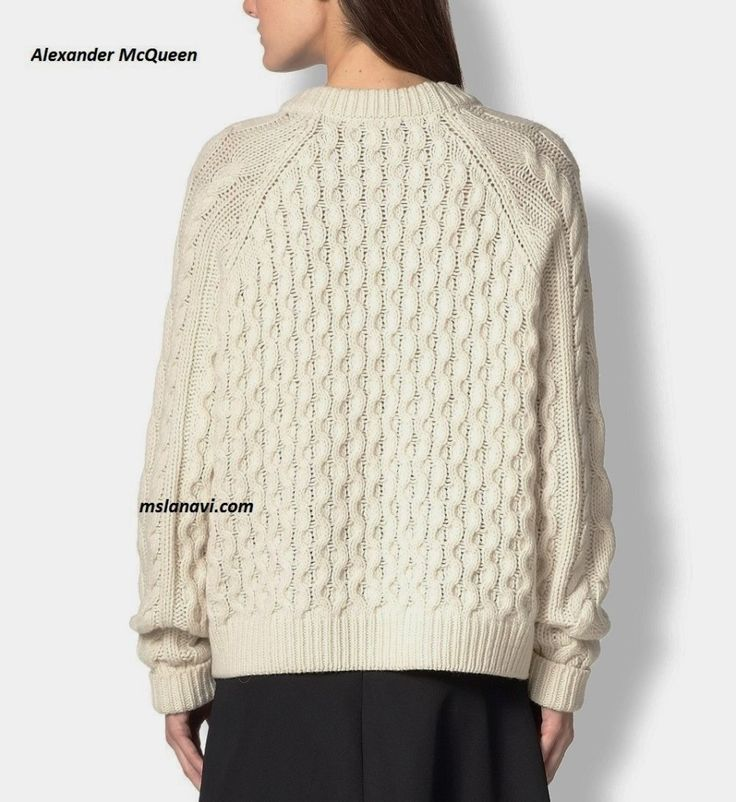 Длинный свитер спицами от ALEX MCQUEEN http://mslanavi.com/2016/02/dlinnyj-sviter-spicami/