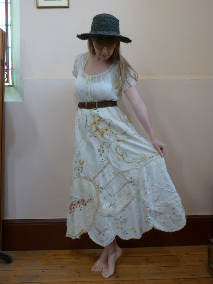 Divine Doiley Dress made with Duchess by SimplyDivineVintage