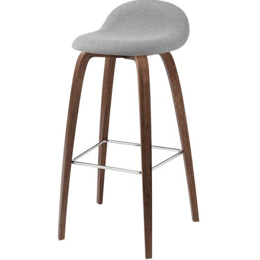 Gubi 3D - Wooden Base Stool - In shop