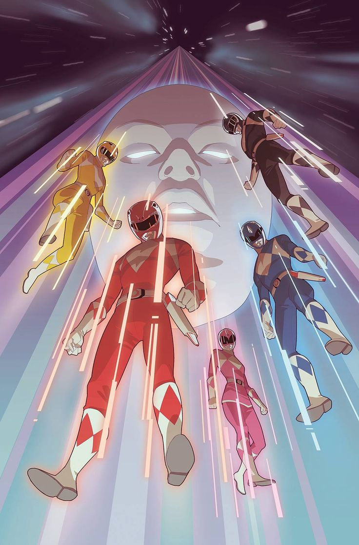 Mighty Morphin Power Rangers by Richard Chang