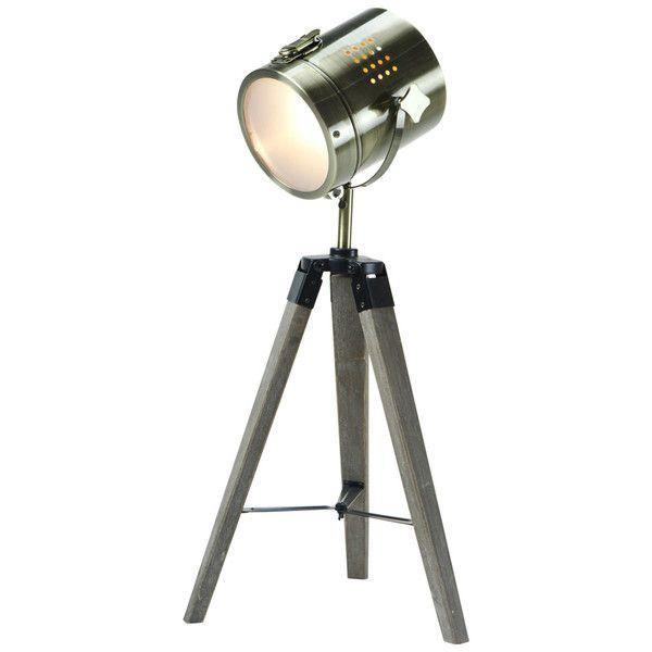 SPOTLIGHT TRIPOD TABLE LAMP - SMALL - BRONZE