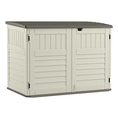 Suncast 5-ft x 3-ft Stow-Away Horizontal Storage Shed