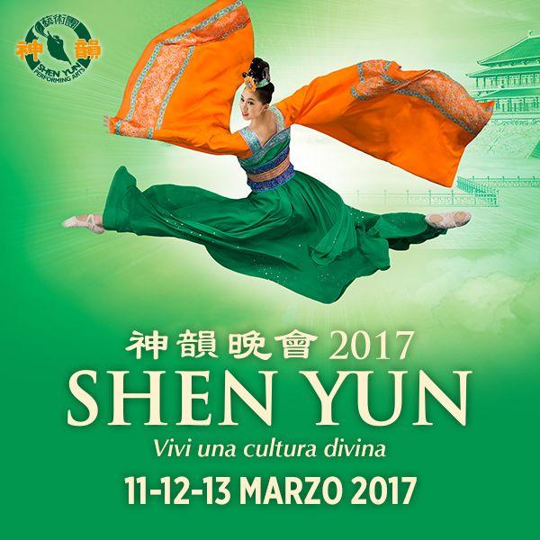 Intraprendi uno straordinario viaggio attraverso i 5000 anni di cultura divinamente ispirata della Cina. Vivi Shen Yun Performing Arts al Teatro degli Arcimboldi di Milano l'11-12-13 marzo. Acquista ora il tuo biglietto!