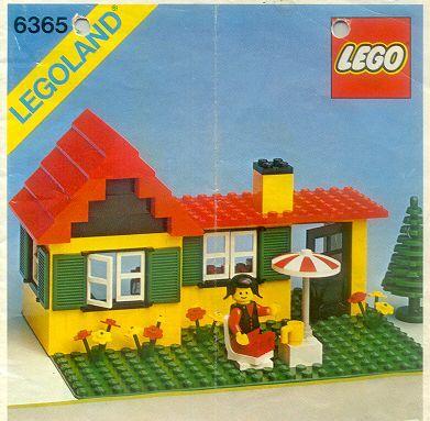 LEGO #6365: Summer Cottage