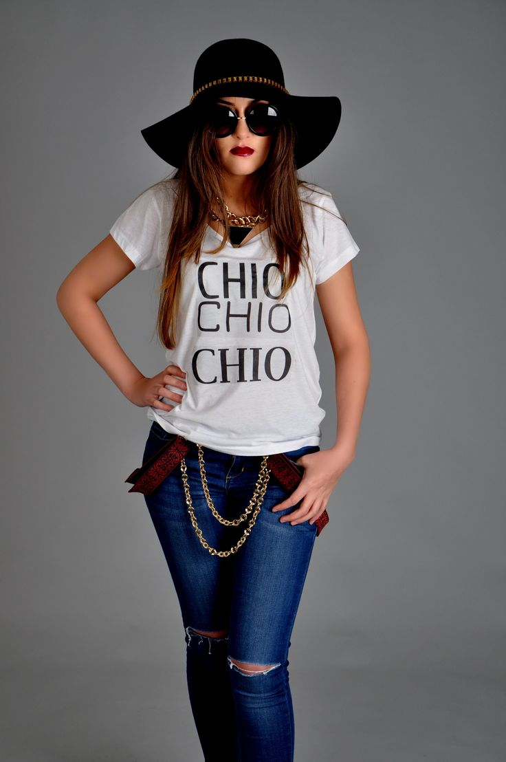 fashion design tshirts chio couture  chains  models photo-shoot photography
