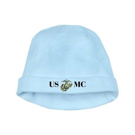 USMC Marine baby hat on CafePress.com