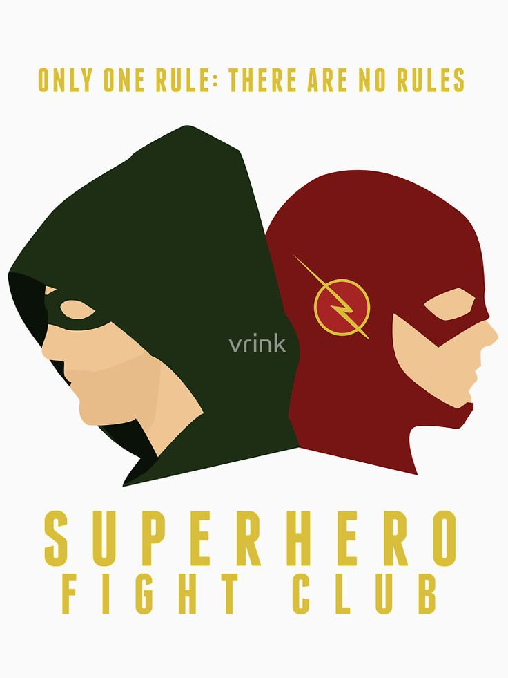 """Superhero Fight Club"" T-Shirts & Hoodies by vrink 