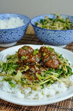 Slimming Eats Teriyaki Meatballs - gluten free, dairy free, Slimming World and Weight Watchers friendly