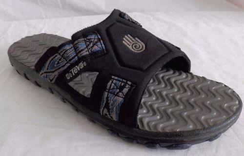 Vintage-90s-TEVA-Mens-Single-Strap-Sandals-Slides-Rare-Older-Style-6535-Size-11M