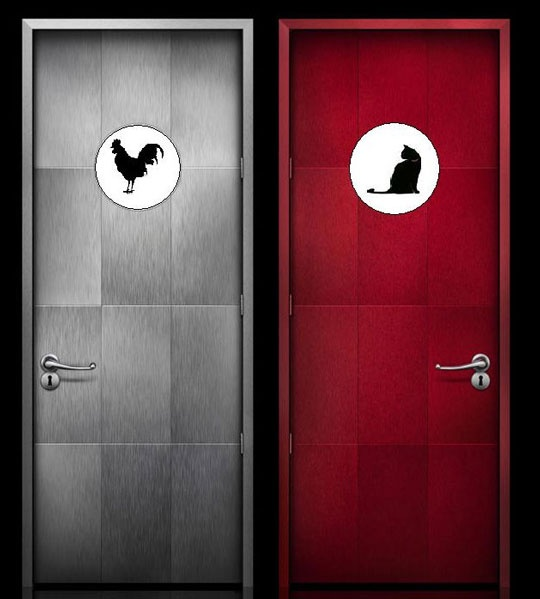 Restaurant Bathroom Signs 94 best unique bathroom signs images on pinterest | bathroom signs