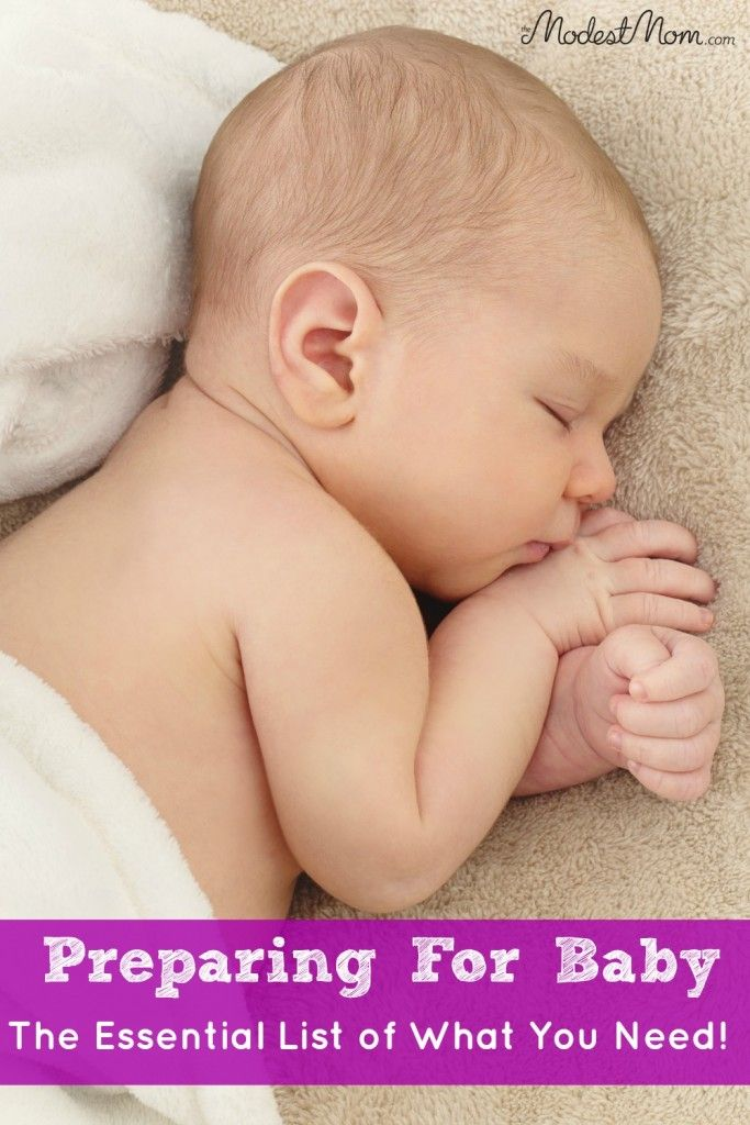 Preparing For Baby - An Essential List of What You Need For A New Baby!