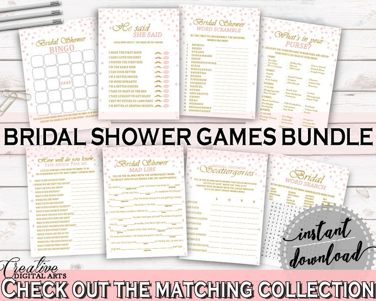 Games Bridal Shower Games Pink And Gold Bridal Shower Games Bridal Shower Pink And Gold Games Pink Gold - XZCNH #bridalshower #bride-to-be #bridetobe